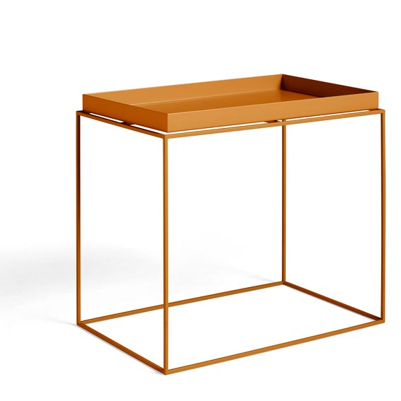 HAY-1025053009000 Tray Table Side Rectangular 40x60 Toffee