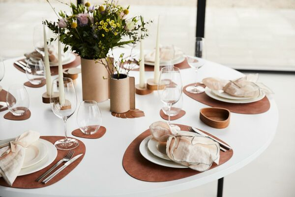 Linddna-990198 Table Mat Curve Nupo Blush 5