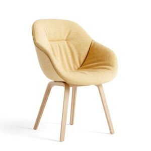Hay 9346701201606 Aac 123 Soft Chair Hallingdal 407 Matt Lacquer Oak Base W. Felt Glider
