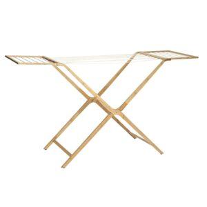 Hubsch Drying Rack Bamboo 240802