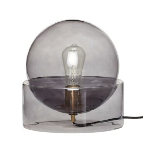 Hubsch Table Lamp Smoke 990908