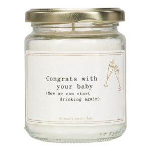 Mol 93 Congrats With Your Baby (little Candle)