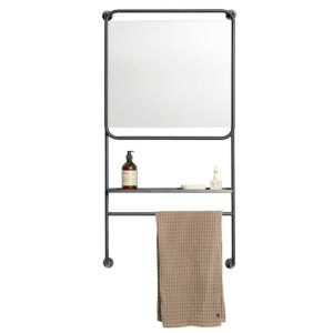 Muubs Mirror with shelf Copenhagen 9010000022 1