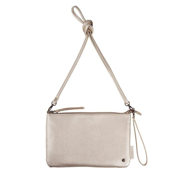 Zusss Basic Clutch Goud Metallic 0202 004 5011 00 Voor