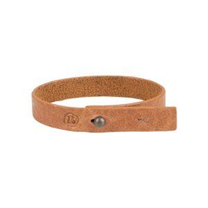 Zusss Leuke Armband Bruin Gevlokt 0401 010 1519 00 Voor