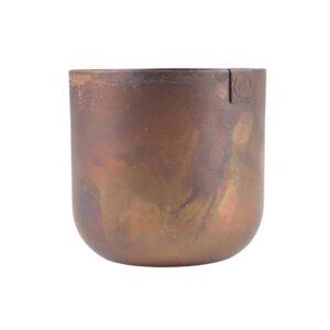 Zusss Potje Metaal 8cm Koper 0505 011 6000 00 Voor