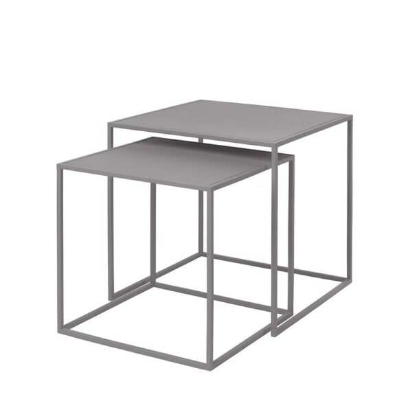 Blomus 65989 Fera Set2tables Mourningdove