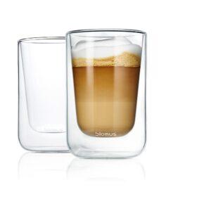 Blomus Pure Taste 63654 Nero Set2 Thermoglas L Cappuccino Dekoc