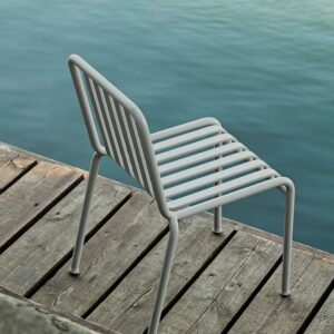 Hay Palissade Chair Sky Grey
