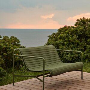 Hay Palissade Lounge Sofa Olive Palissade Quiltet Cushion Olive