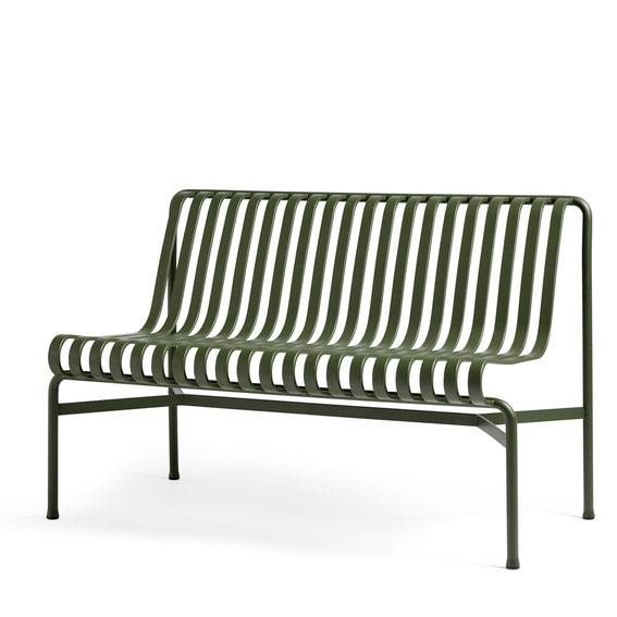 Hay Palissade Dining Bench Without Armrest Olive