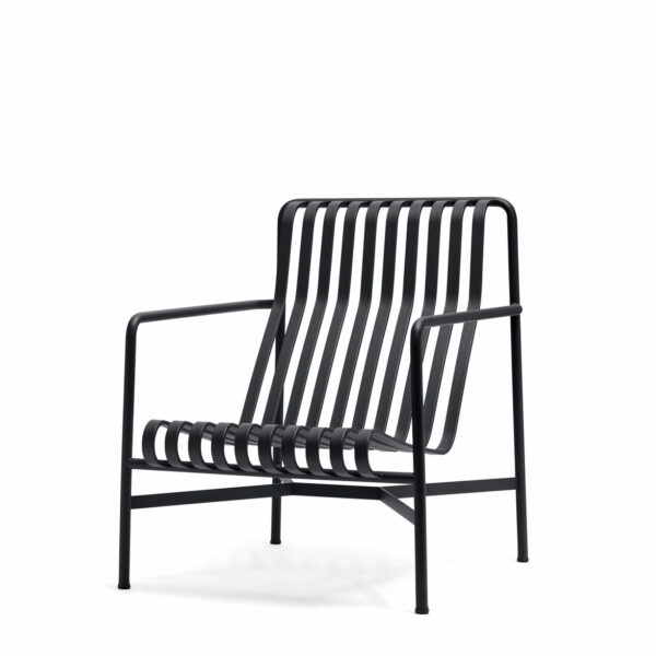Hay Palissade Lounge Chair High Anthracite