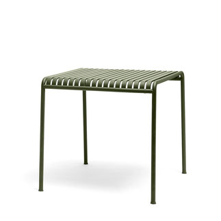 Hay Palissade Table L82,5xw90xh75 Olive