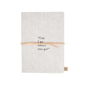Zusss Notitieboek Can I Go Linnen 0805 021 1511 00 Voor