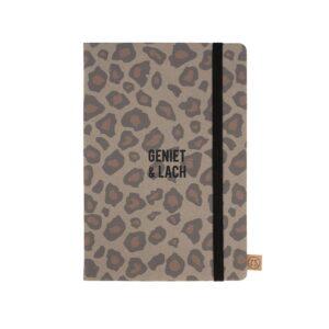 Zusss Notitieboek Geniet Leopard 0805 019 7007 00 Voor