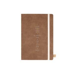 Zusss Notitieboek Rainy Days Cognac 0805 020 1507 00 Voor