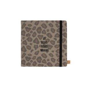 Zusss Vriendinnenboek Goud Waard Leopard 0805 022 7007 00 Voor