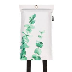 Naaais Eucalyptus Design Blusdeken 1
