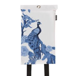 Naaais Peacock Design Blusdeken 1