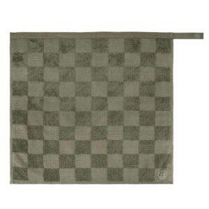 Zusss Handdoek Geblokt Donkergroen 0710 031 4500 00 Voor