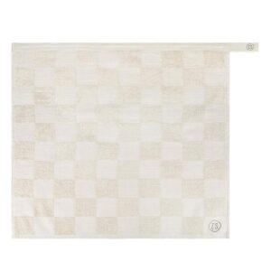 Zusss Handdoek Geblokt Zand 0710 030 4500 00 Voor