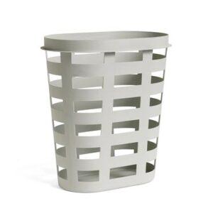 505959 Laundry Basket L Light Grey