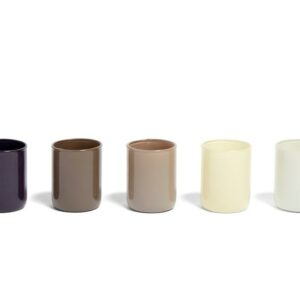 507472 Spot Votive Set Of 5 Grey