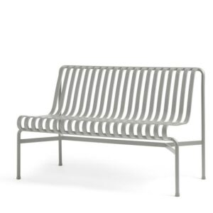 8120491109000 Palissade Dining Bench Without Armrest Sky Grey