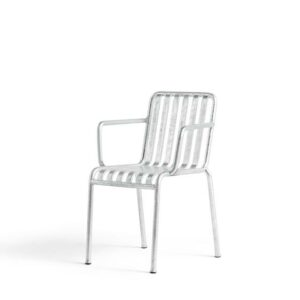 812076 Palissade Arm Chair Hot Galvanized