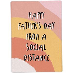 Kaartblanchedistancedfathersday