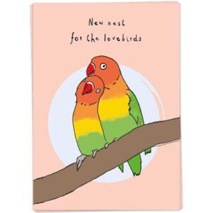 Kaartblanchenewnestforthelovebirds