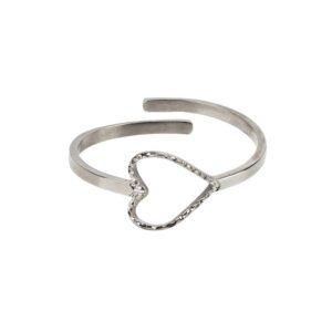 Zusss Ring Hartje Zilver 0404 041 5500 00 Voor