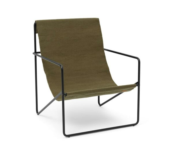 Fermliving Lounge Chair Black Olive 2