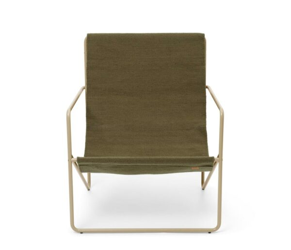 Fermliving Lounge Chair Cashmere Olive 1