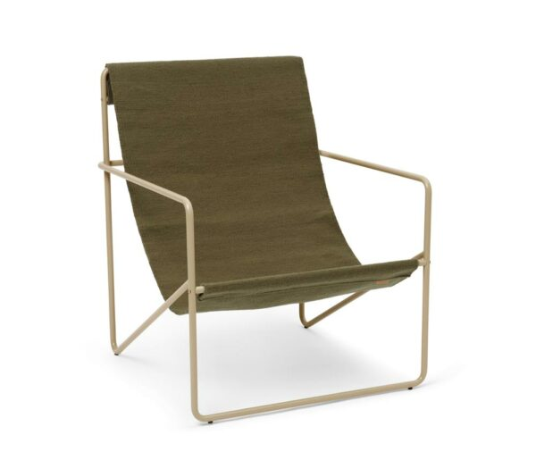 Fermliving Lounge Chair Cashmere Olive 2