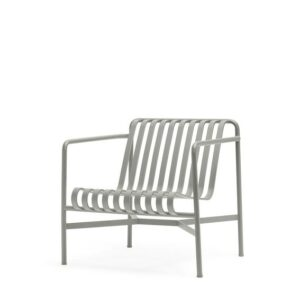 81203111090001 Palissade Lounge Chair Low Sky Grey