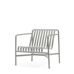 81203111090001 Palissade Lounge Chair Low Sky Grey