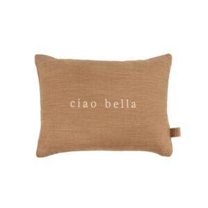 Zusss Kussen Ciao Bella 35x25cm Kaki 0101 071 1526 00 Voor