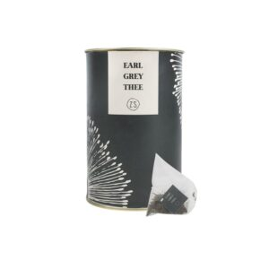 Zusss Thee In Luxe Koker Earl Grey Grafietgrijs 0712 007 1002 00 Voor