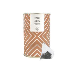 Zusss Thee In Luxe Koker Earl Grey Kaki 0712 006 1526 00 Voor