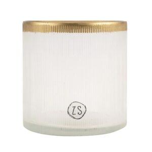 Zusss Waxinelichthouder Glas Goud 0502 045 5000 00 Voor