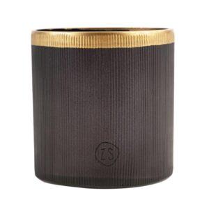 Zusss Waxinelichthouder Glas Zwart 0502 045 0000 00 Voor