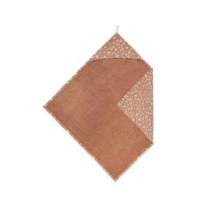 Zusss Wikkeldeken Bloemenprint Brique 1004 001 3002 00 Voor
