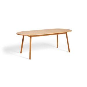 2575011009000 Triangle Leg Table L200xw85xh74 Oiled Oak