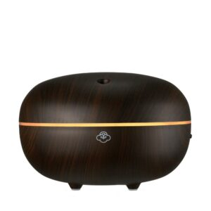 Serene House Ultrasonic Diffuser Macaron Dark Wood 250ml On2